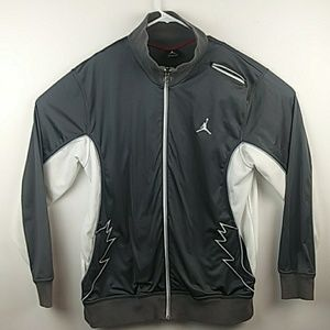 Jordan brand zip up sweatshirt size large